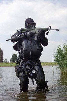 Frogman Kikker Dutch Marines Special Forces