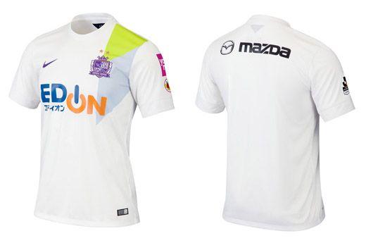 Camisas do Sanfrecce Hiroshima 2015 Nike 2
