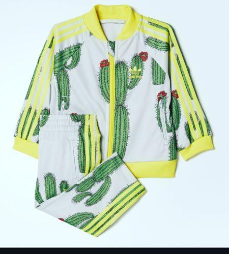 Outfits And Sets 163427 Adidas X Mini Rodini Cactus Track
