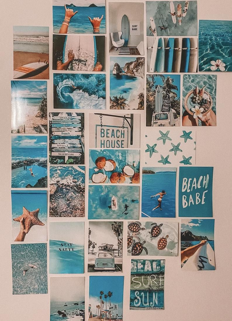 Surf/Beach Collage Kit