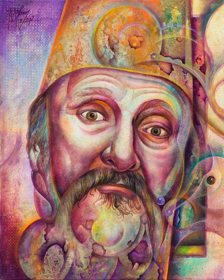 Zoltán Molnos Art Work #Romania_Art #Zoltan_Molnos #Painting