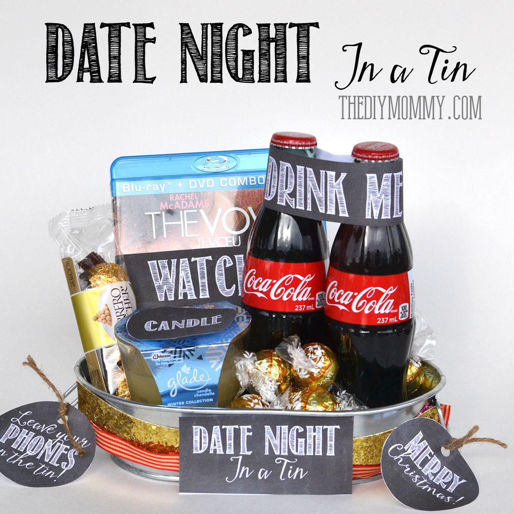 A Gift in a Tin: Date Night in a Tin in 2020 | Date night ...