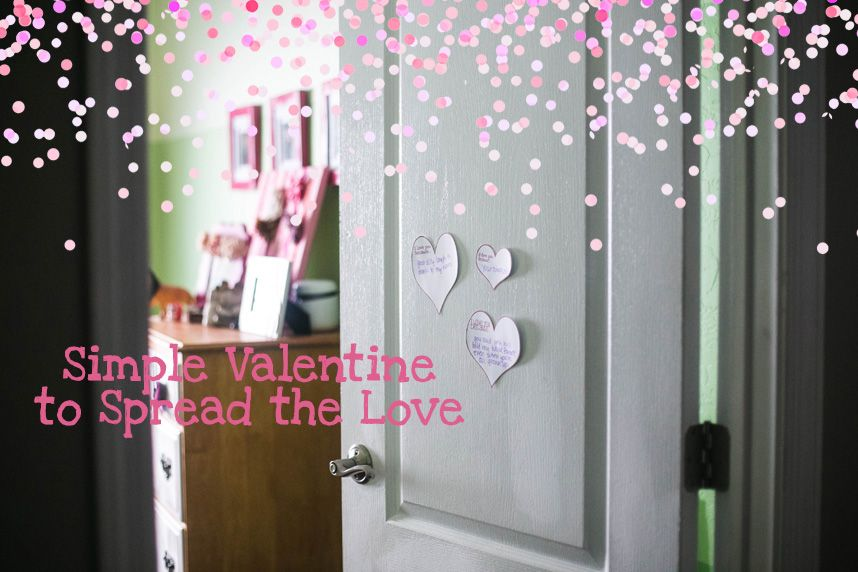 Super Simple way to celebrate Valentine's Day with your Little's! And, they will LOVE it! © Audrey Roundy Photography