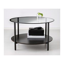 vittsj couchtisch schwarzbraun glas. Black Bedroom Furniture Sets. Home Design Ideas