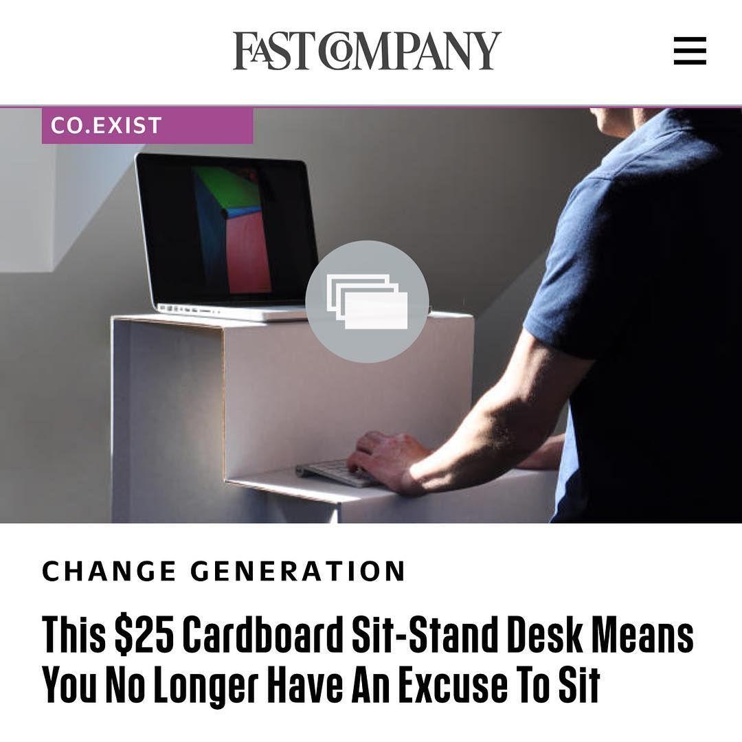Instagram image sit stand desk portable standing desk