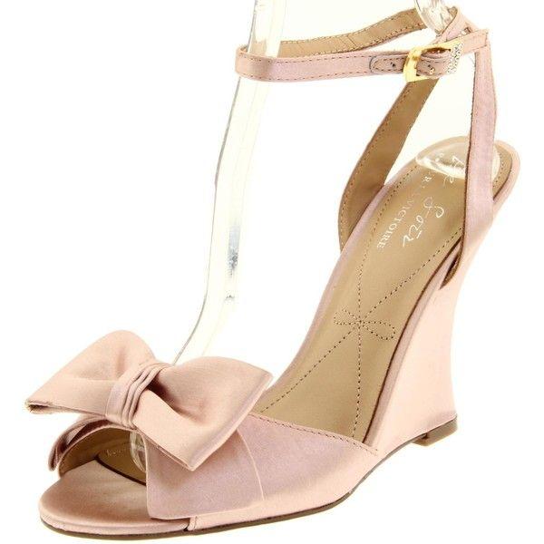 Le Soir Pour La Victoire Women S Evelia Wedge Sandal 75 Found On Polyvore