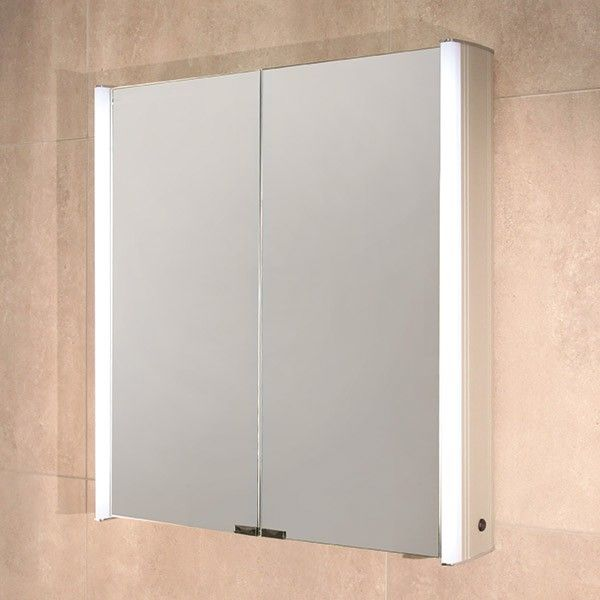 Ora Double Door Illuminated Mirror Cabinet Product Code 10010