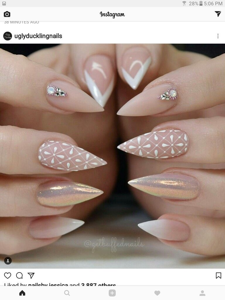 Nice nude nails great design | Hairstyle, Makeup, Nails and tips ...