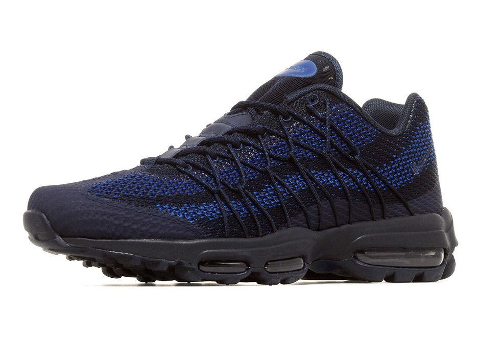 best sneakers 064e7 dd7bb Nike Air Max 95 Ultra Jacquard Appears In Navy And Royal  thatdope  sneakers   luxury  dope  fashion  trending