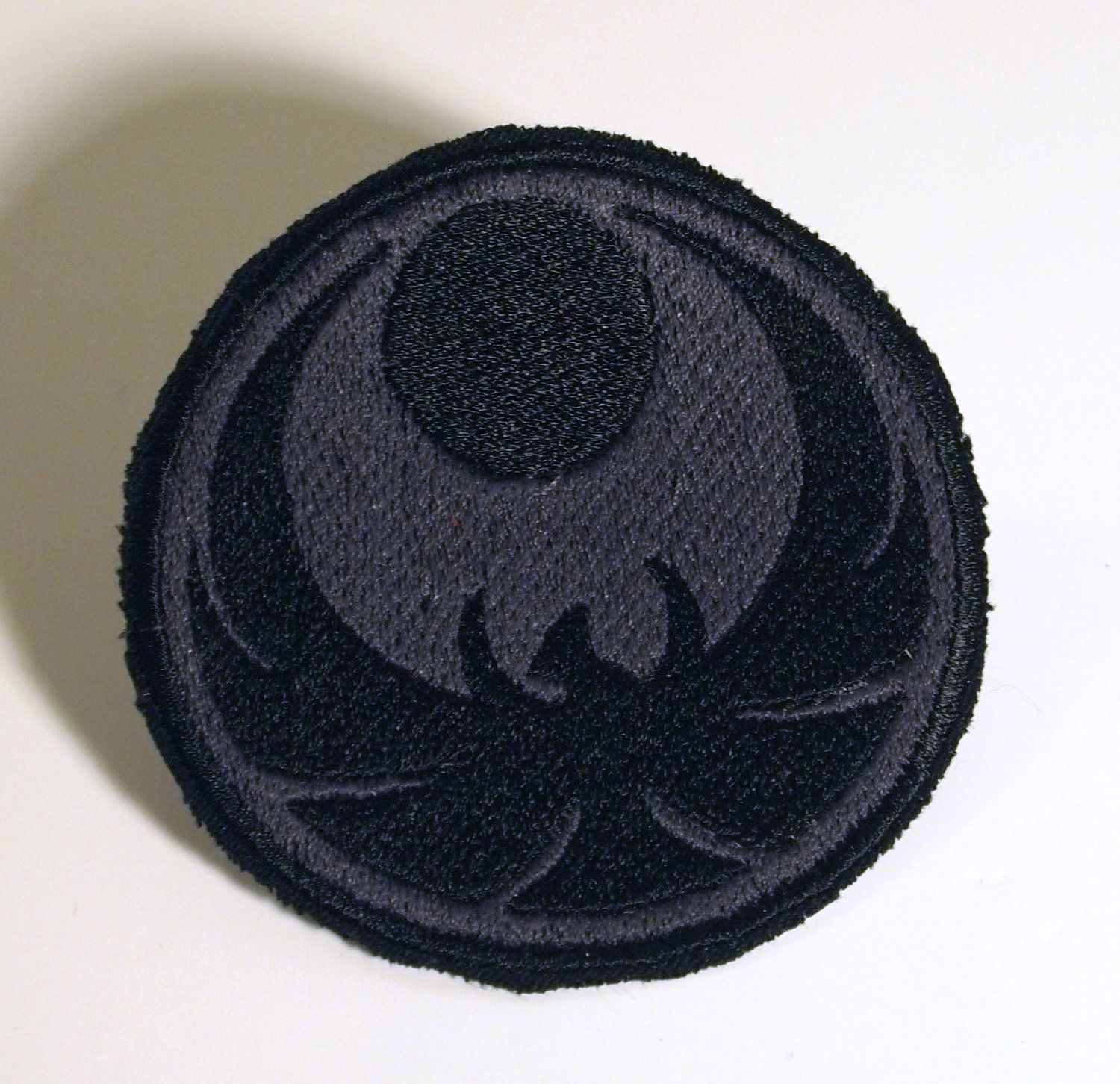 Skyrim inspired- Thieves guild - Nightingale Nocturnal embroidered iron on patch. $6.00, via Etsy.