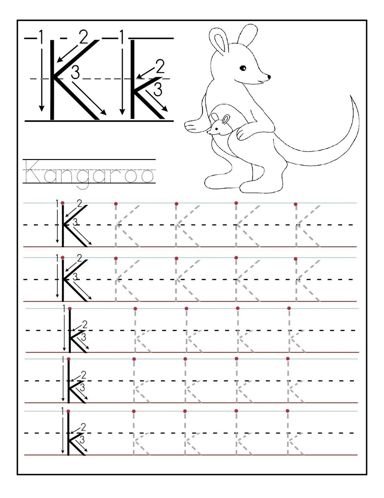 letter n worksheets for preschool and kindergarten tracing