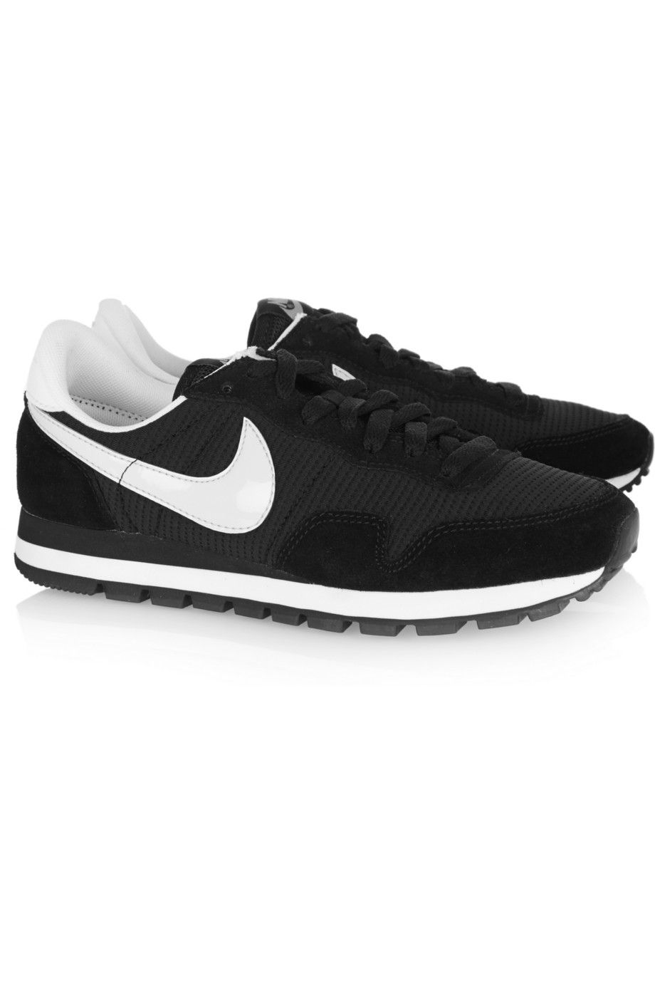 on sale 097f9 e0c18 Nike Air Pegasus 83 suede, leather and mesh sneakers