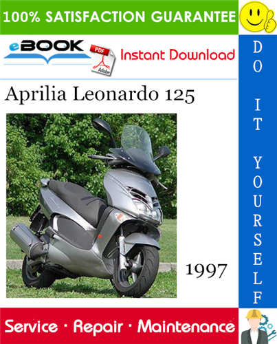 1997 Aprilia Leonardo 125 Motorcycle Service Repair Manual 928v Aprilia Repair Manuals Leonardo