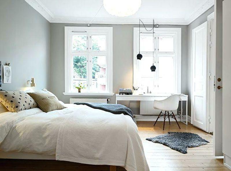 graue beige schlafzimmer farben ideen #bigluxurybedroom Bedroom