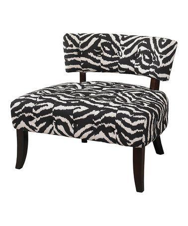 Best Look At This Zulilyfind Black White Zebra Armless 400 x 300