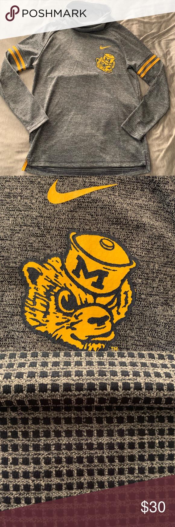Nwot Nike Michigan Wolverines Sweatshirt Sweatshirts Cute Turtles Nike Sweatshirts [ 1740 x 580 Pixel ]