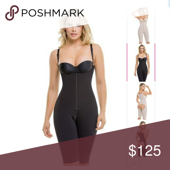 4567bf560 Curve-Enhancing Full Body Shaper The ultra compressive and antibacterial  fabric will give you sculpted legs