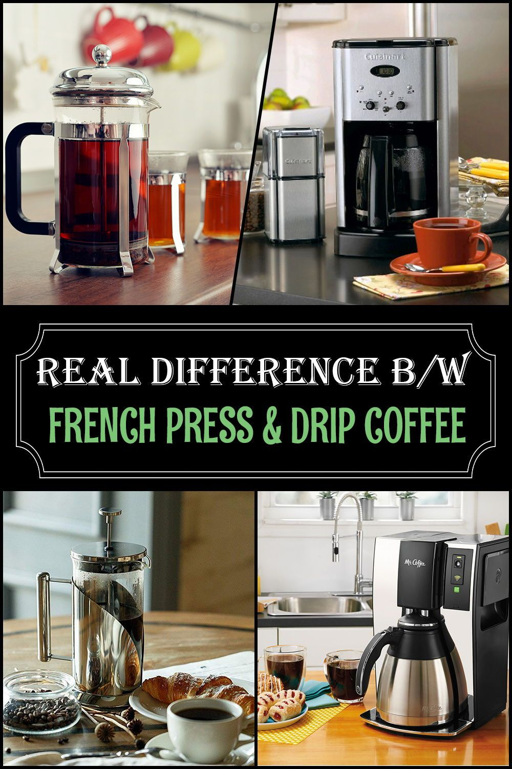 Revealing the Best French Press Vs. Drip Coffee Coffee