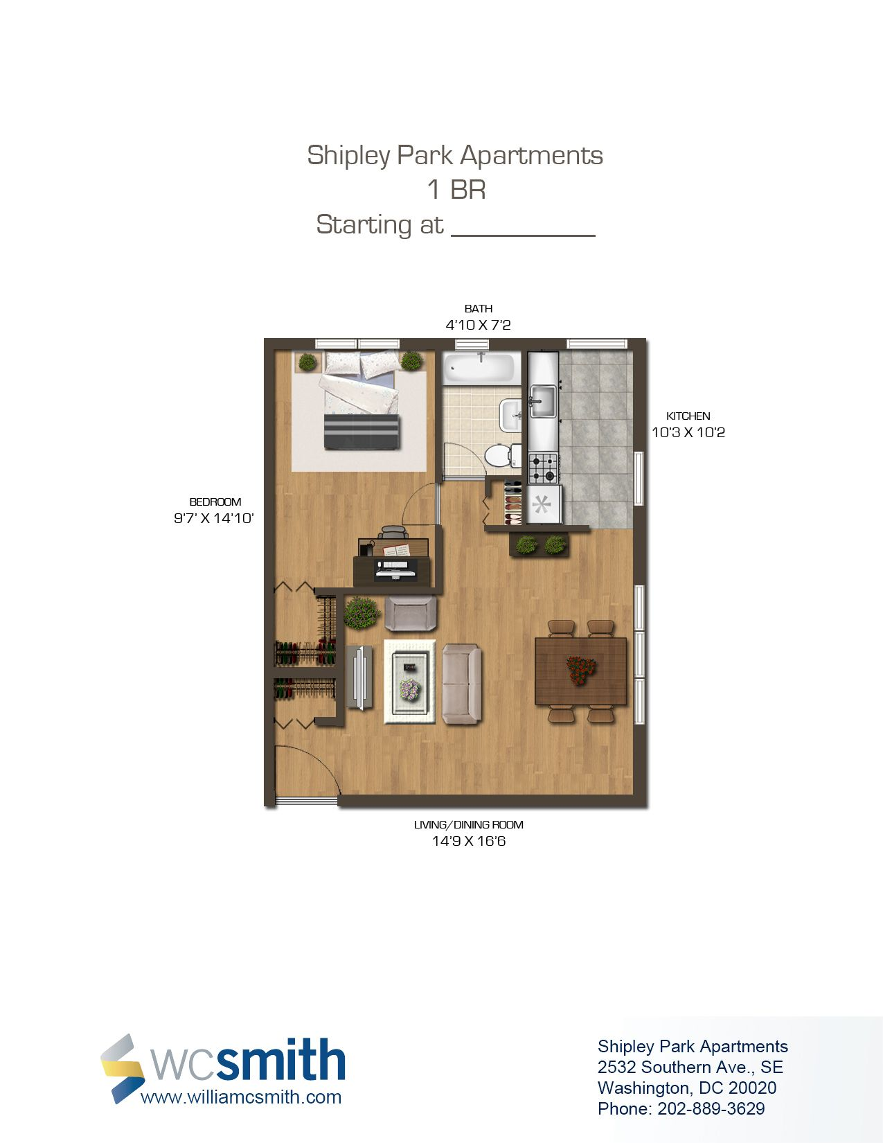 2 Bedroom Apartments For Rent In Dc Alluring Shipley Park  Washington Dc Apartments And Park 2018