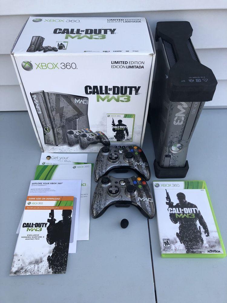 Microsoft Xbox 360 Call Of Duty Modern Warfare 3 Limited Edition 320gb Console Modern Warfare Call Of Duty Warfare