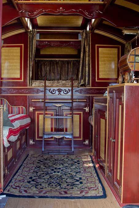 East gwillimbury cameragirl gypsy wagon our world - Interior caravana ...