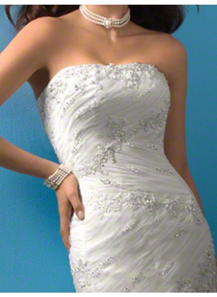 wedding dresses wedding dresses with straps lace wedding dresses kate middleton strapless organza lace mermaid beading empire sweep-train wedding dresses we2357