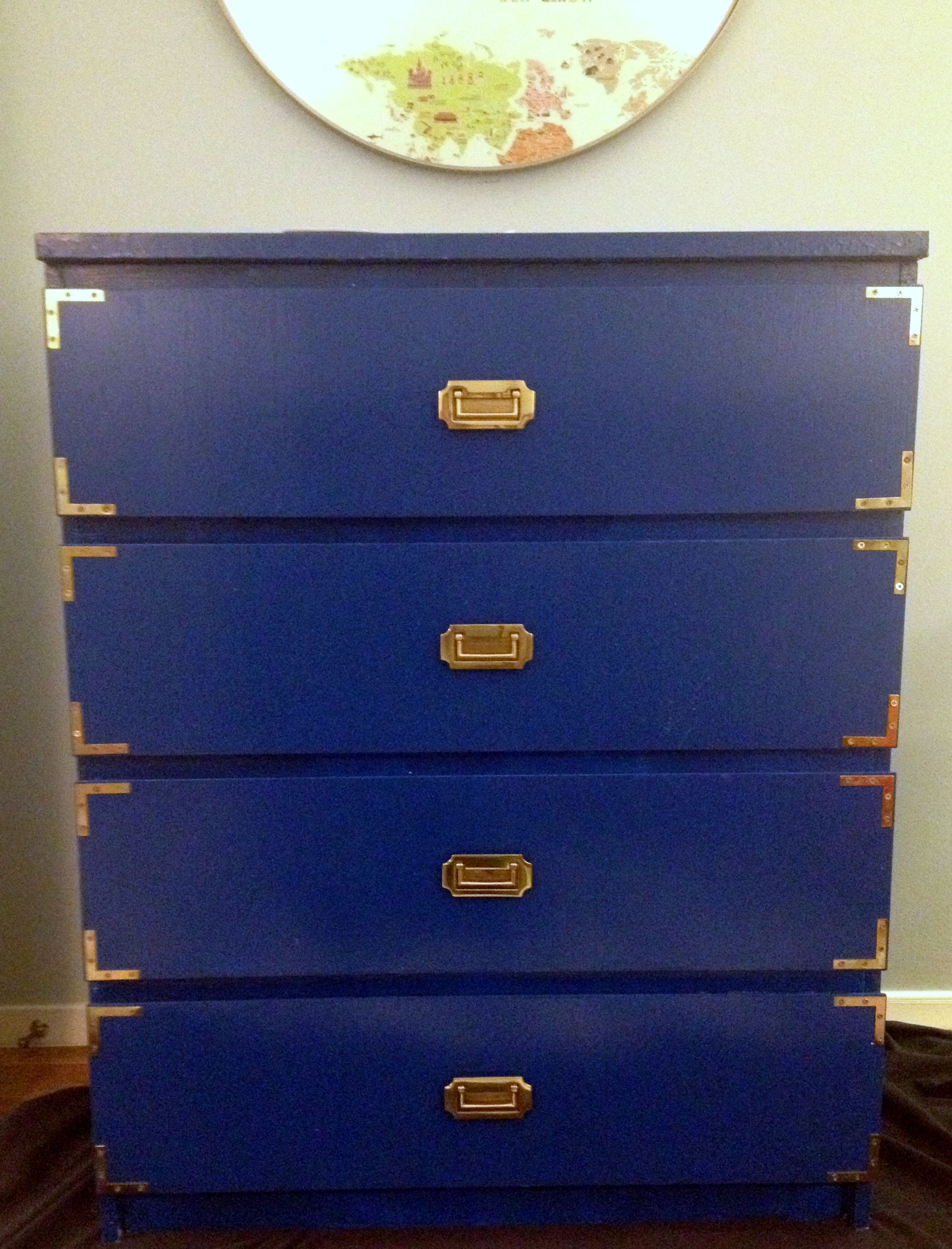 Boring Malm Dresser Transforms Into Fabulous Campaign Dresser