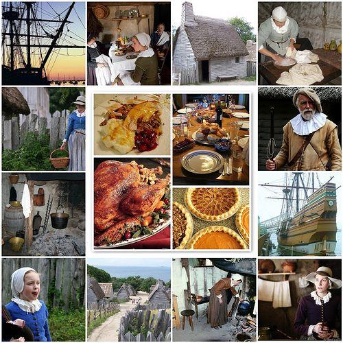 #Thanksgiving --  Pilgrim style...