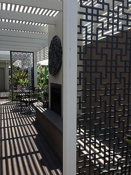 Metal Garden Screens House in 2018 Pinterest Patio, Garden and