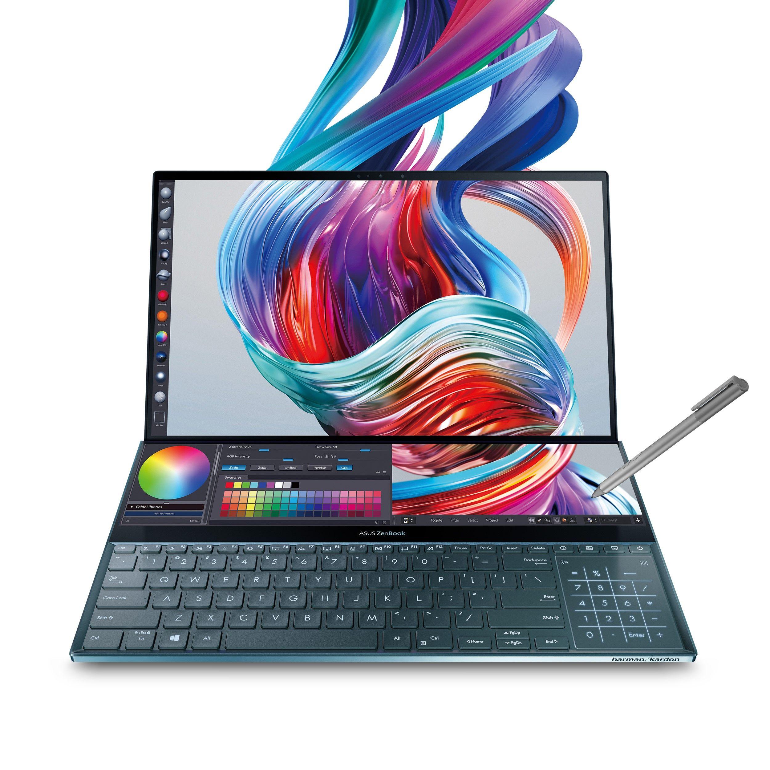 Asus Zenbook Pro Duo Ux581 15 6 4k Uhd Nanoedge Bezel Touch