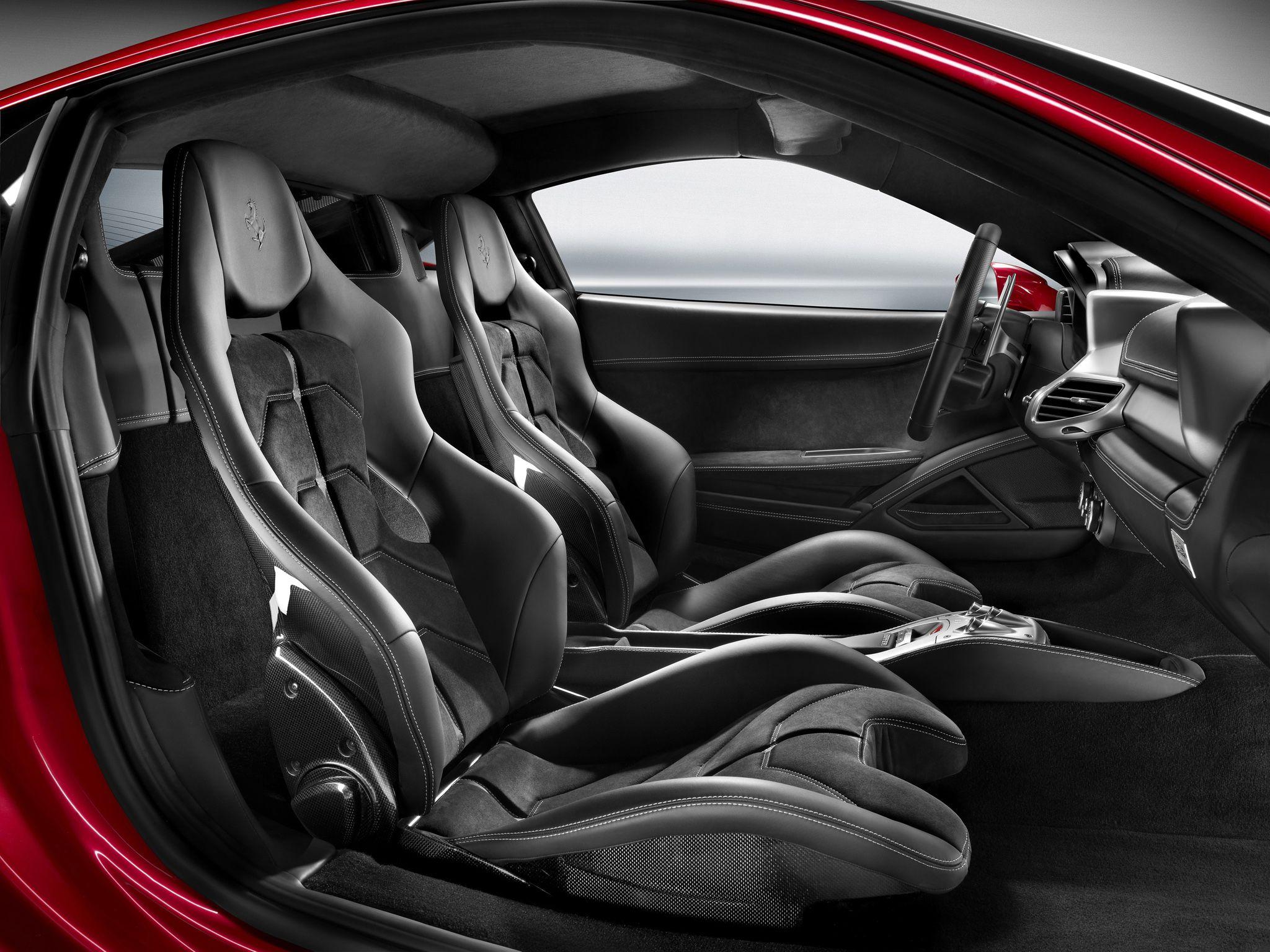 Ferrari 458 Italia Interior I Love The Carbon Fiber Bucket Seats