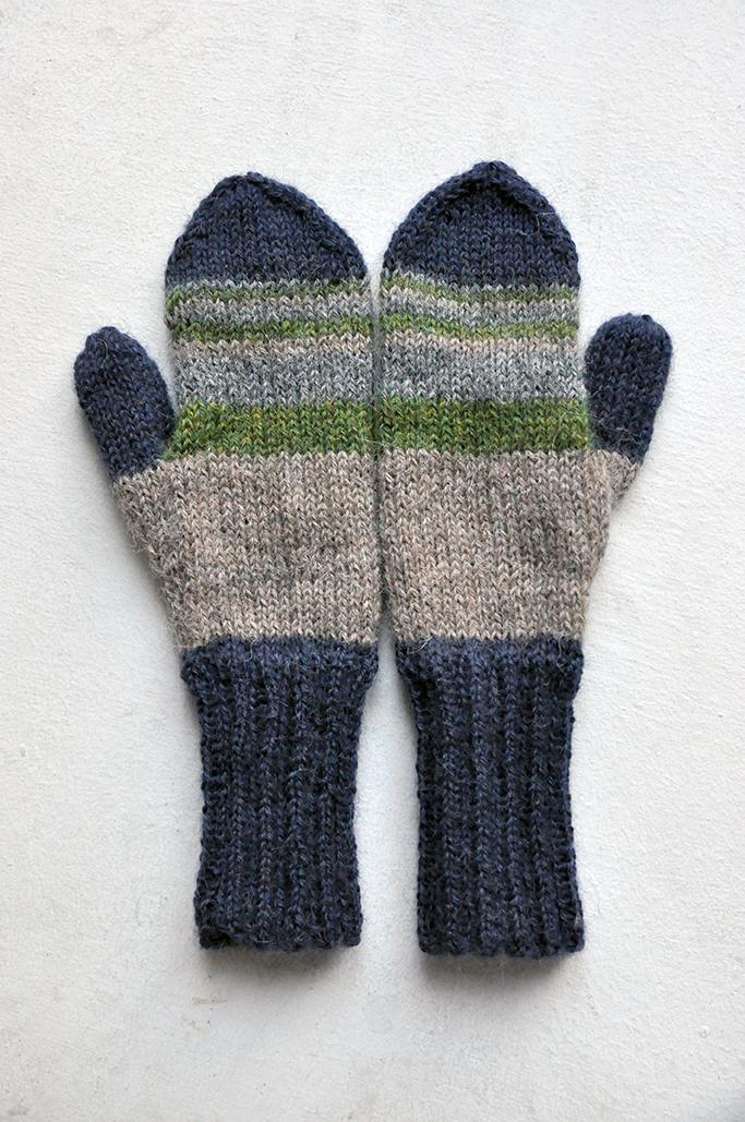 Gestrickte Kinderhandschuhe Mit Anleitung Gestricktes Knitting