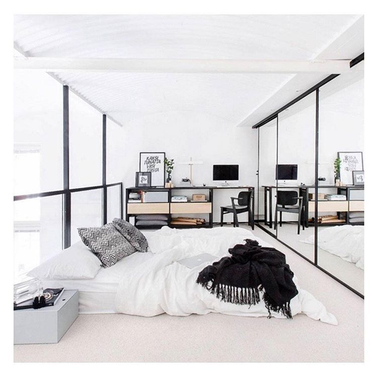 Pinanamm Khan On Home  Pinterest  Bedrooms Room Ideas And Fascinating Monochrome Bedroom Design Ideas Inspiration