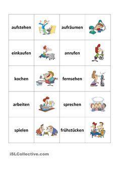 trennbare verben memory deutsch als fremdsprache