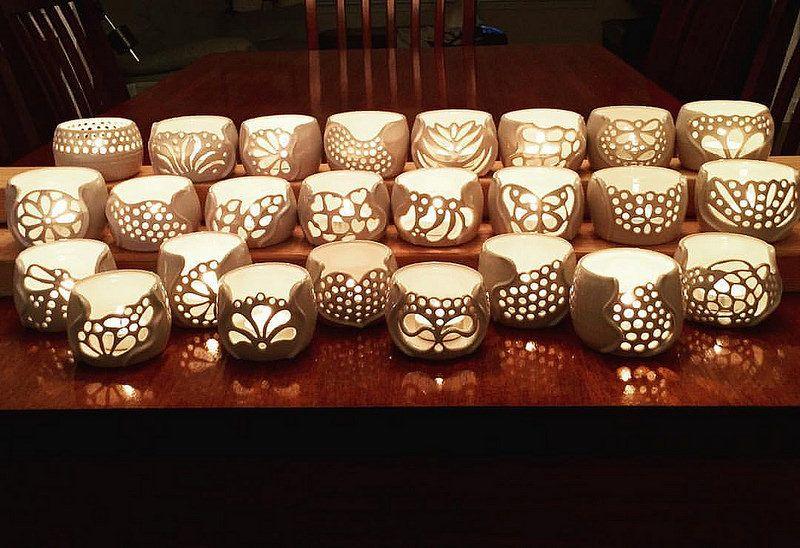 Wedding Rehearsaldinner Pottery Weddingpartyfavors Ceramics Etsy Handthrown Handcraftedpottery Handmade Potterylove Ceramica Creativity Kilnopening Keramiek Kaarsen Porselein