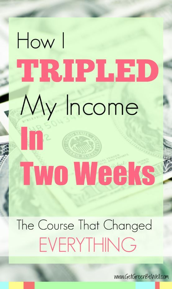Triple your income in two weeks! Make more money on your blog with affiliate links. Bloggers NEED to get this course now! Click for my results.