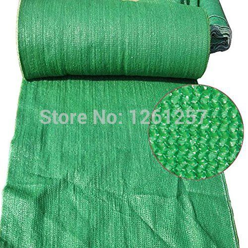 Free Shipping 90% 3MetersX3Meters Green Sun Barrier Netting Mesh Sunblock Shade Cloth UV Resistant Net For Garden Flower Plant