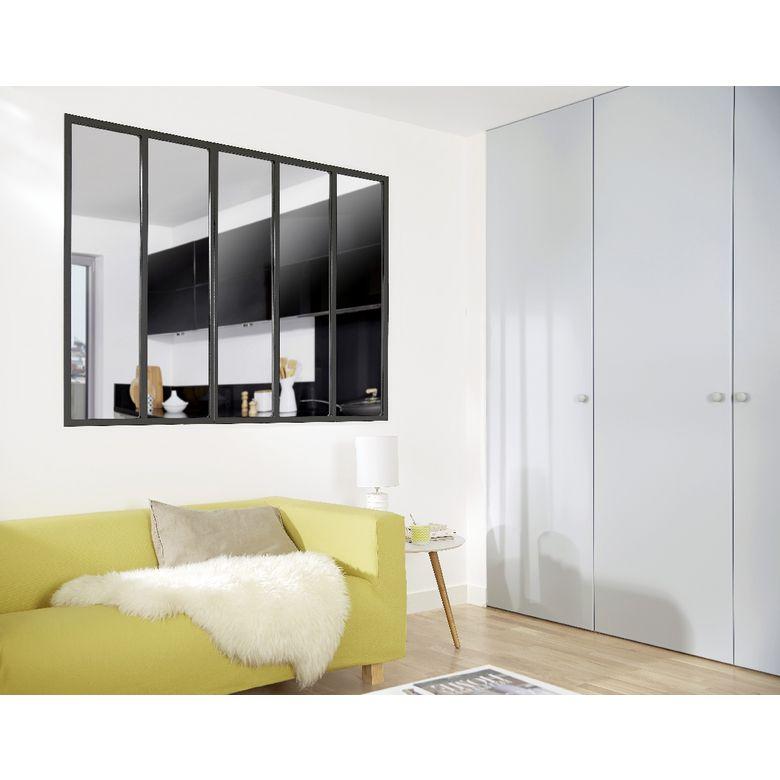 Verrière du0027atelier couleurs - Portes Ameublement Pinterest Salons - couleur des portes interieur
