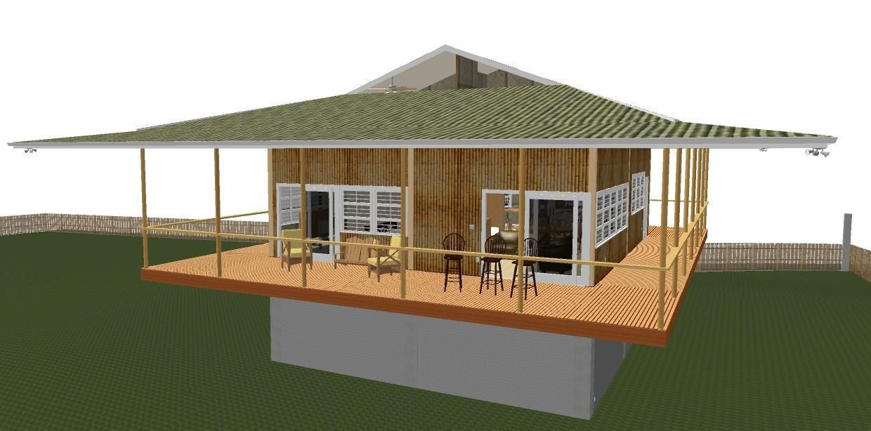 Native house design in the philippines construction styles - Bamboo house design and floor plan ...