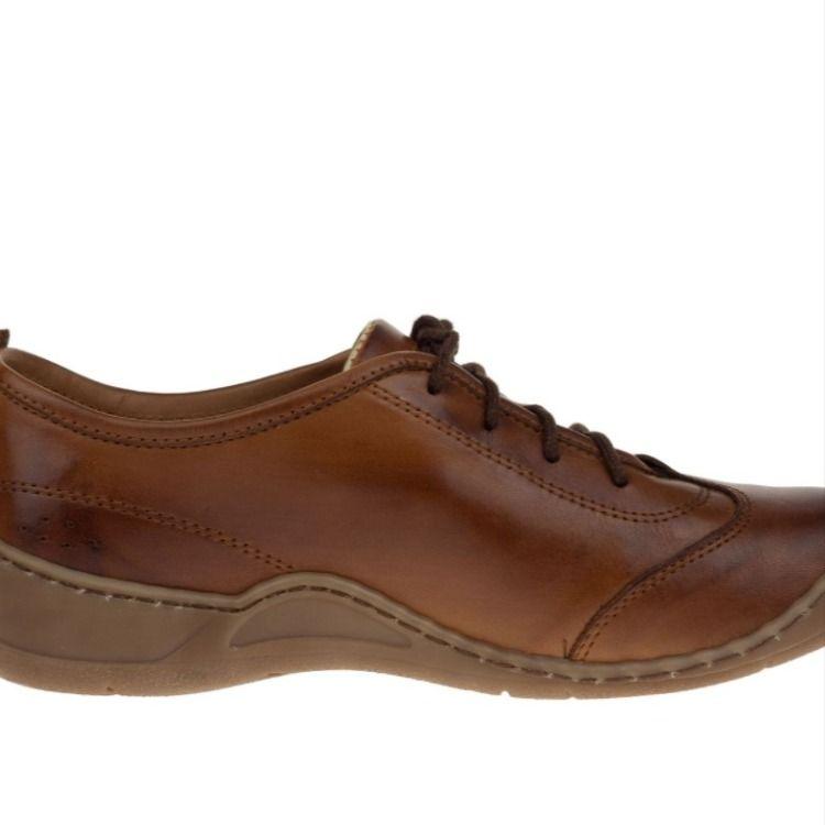 Lesta 3452 Brazowe Damskie Polbuty Shoes Sneakers Fashion