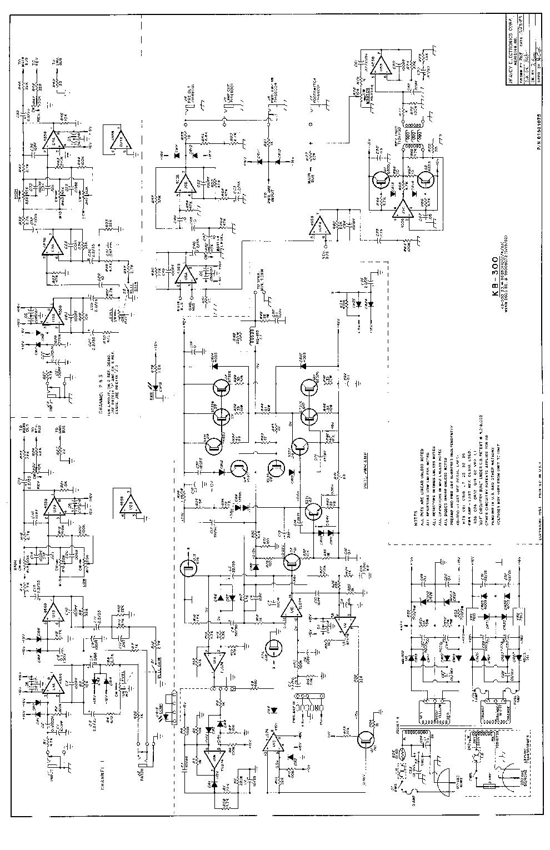 PEAVEY 400SC POWER AMP SCH Service Manual download, schematics