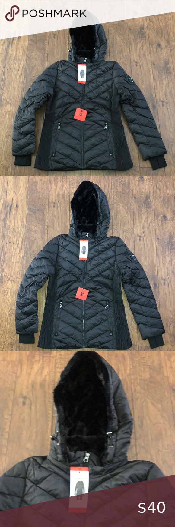 Nautica Winter Coat Nwt Host Pick In 2021 Coats Jackets Women Winter Coat Sleeveless Puffer [ 1740 x 580 Pixel ]