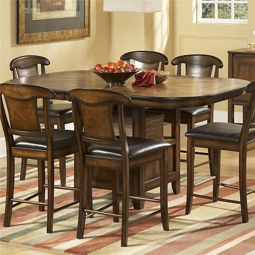 Homelegance 626 Counter Height Table With One Leaf