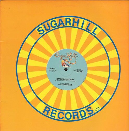Sugarhill Gang - Rapper's Delight (15:00 minutes Extended Version/Rapper's Delight (6:30 minutes (LP)