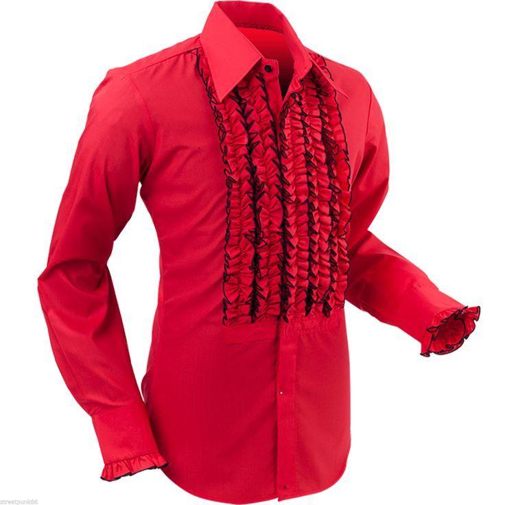 Mens Ruffled Tuxedo Shirt Google Search Buy