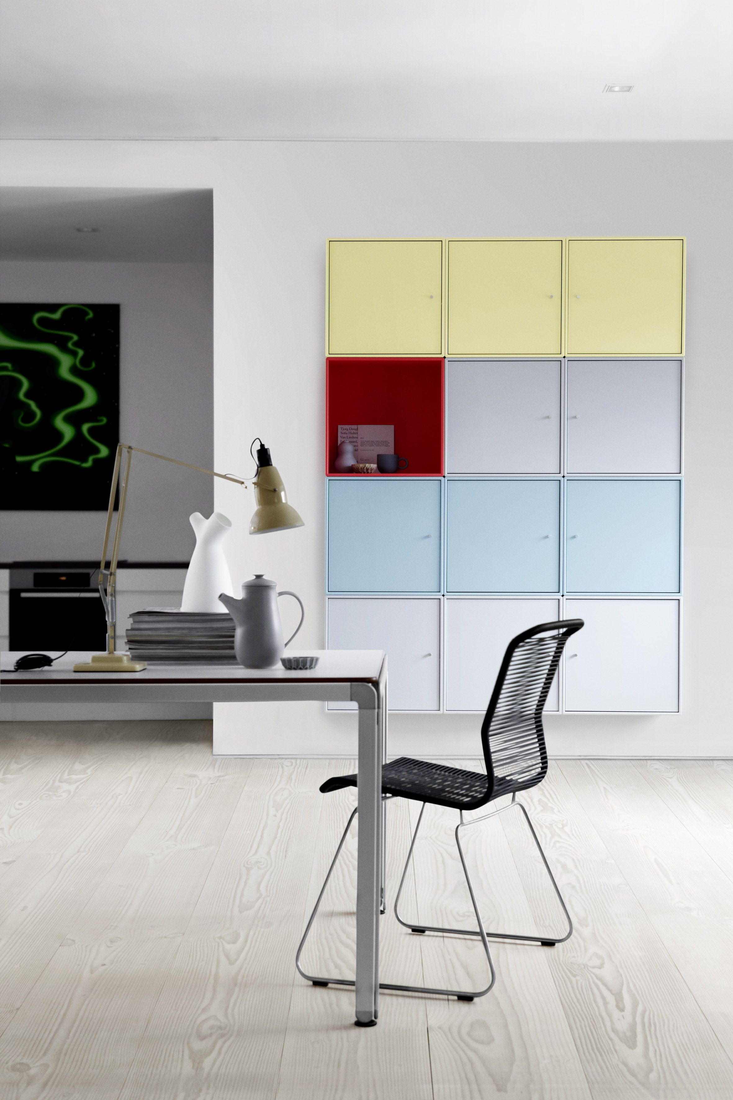 violetta front wall montana furniture collection one pin the showroom panton showing in copenhagen