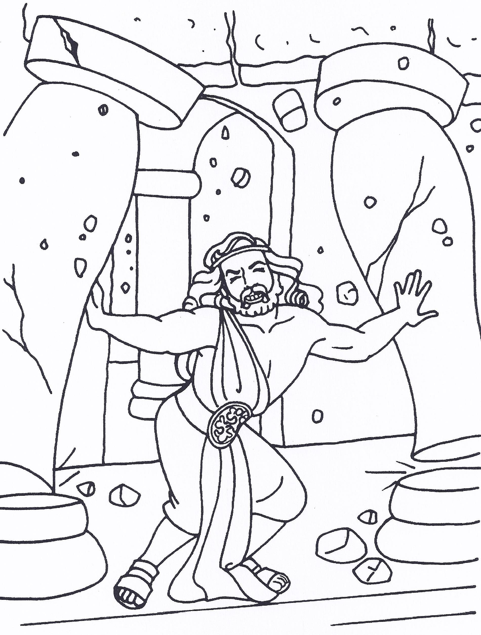 Samson | Bible characters | Pinterest | Sunday school