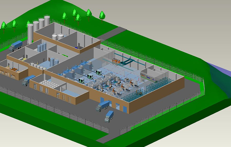 2d To 3d Factory Design Software Mpds4 Factory Layout Factory