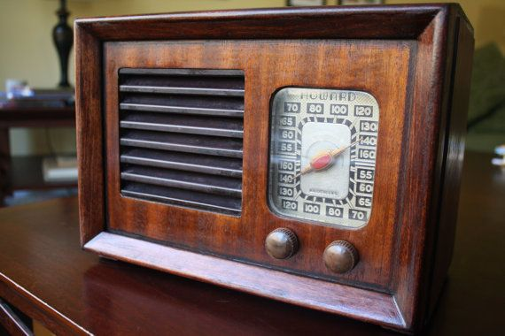 1948 Howard Am Radio Antique Radio Old Radios Vintage Radio
