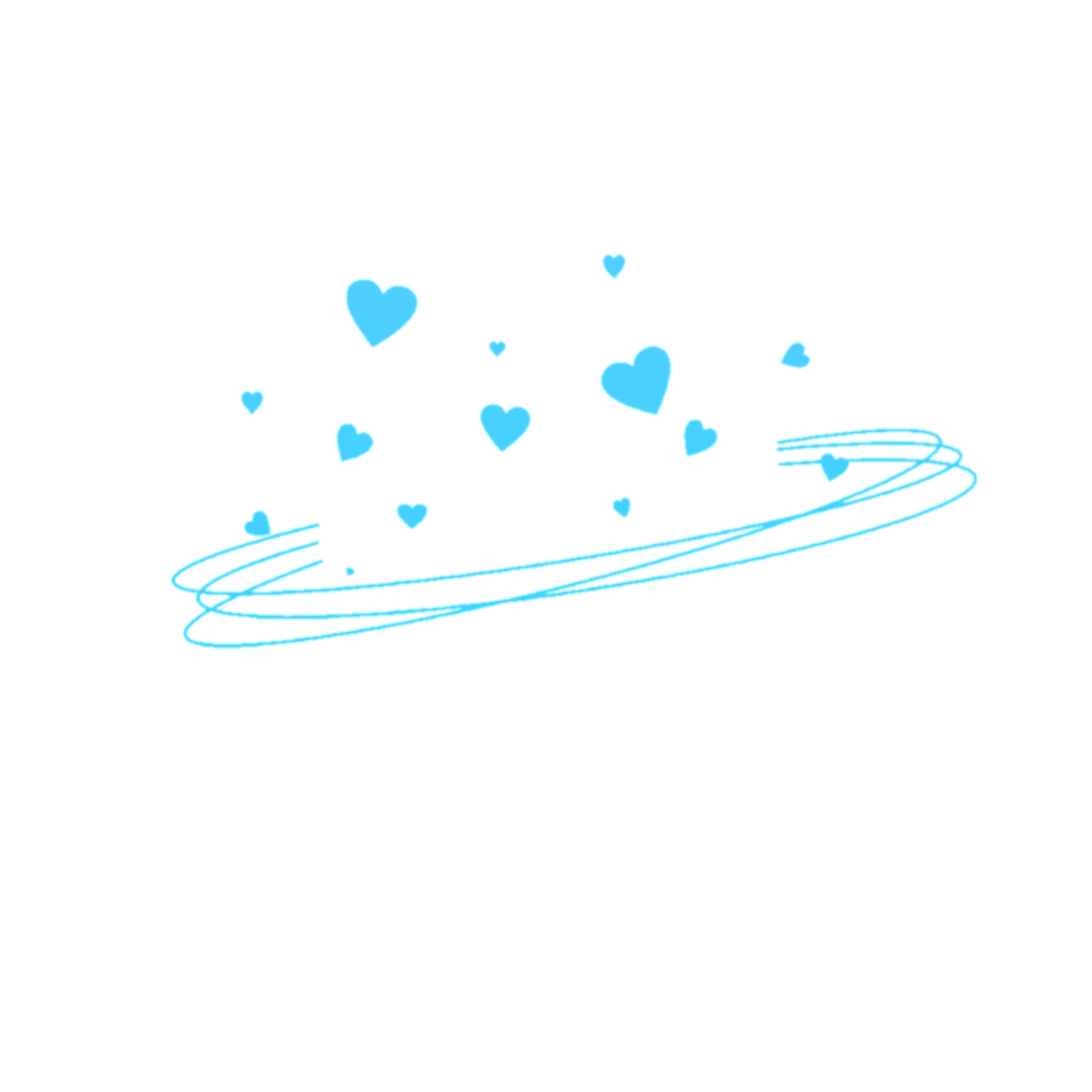 Blue Aesthetic Stickers Png